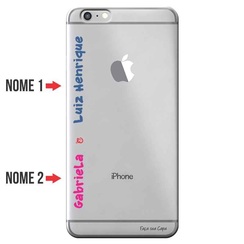 Capa Personalizada com Nome para Apple Iphone 6 6S - NM04