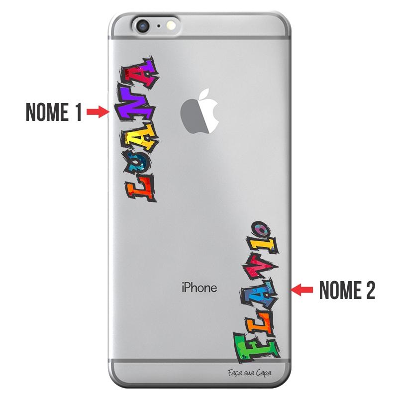Capa Personalizada com Nome para Apple Iphone 6 6S - NM05