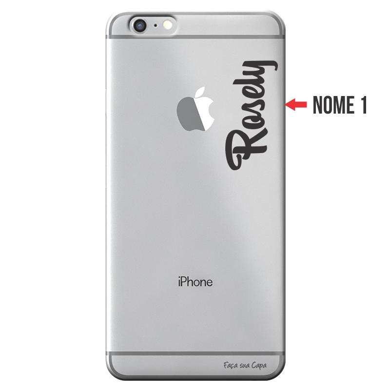 Capa Personalizada com Nome para Apple Iphone 6 6S - NM06