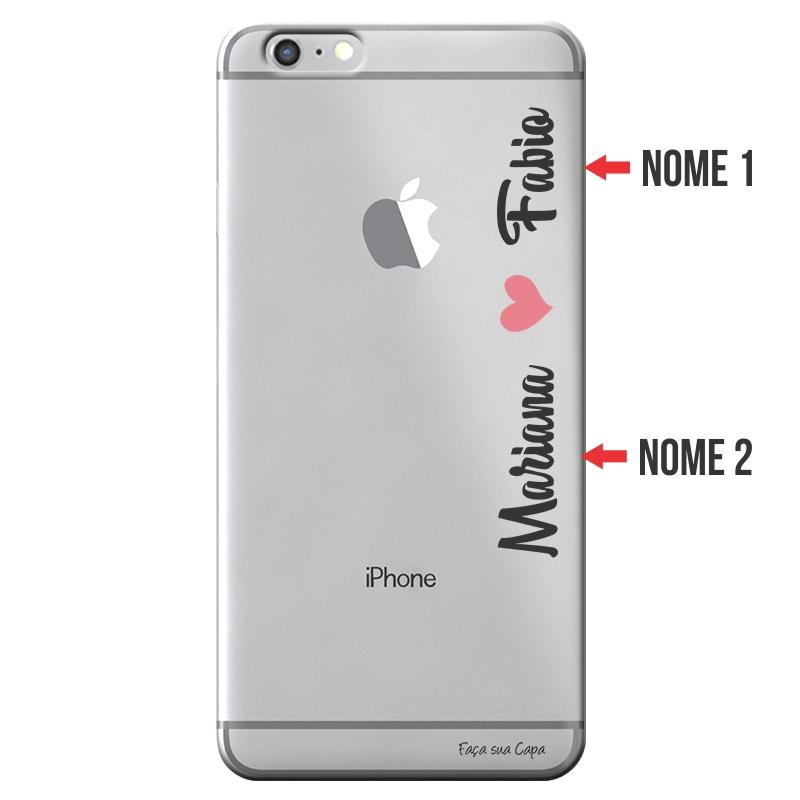 Capa Personalizada com Nome para Apple Iphone 6 6S Plus - NM01