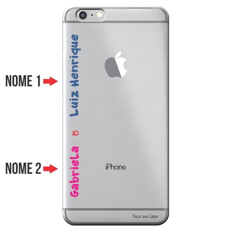 Capa Personalizada com Nome para Apple Iphone 6 6S Plus - NM04