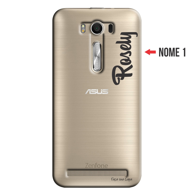 Capa Personalizada com Nome para Asus Zenfone 2 Laser ZE550KL - NM06