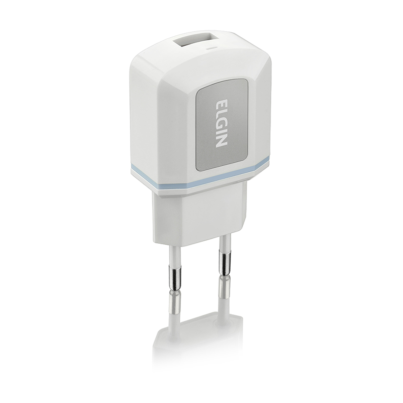 Carregador Elgin para Tomada com 1 Saída USB