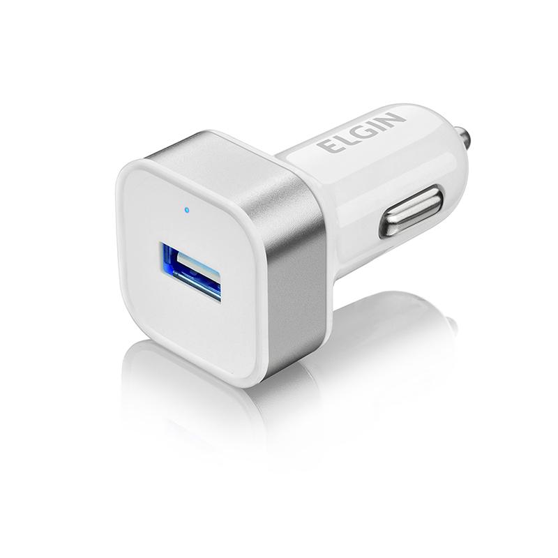 Carregador Veicular Elgin com 1 Saída USB