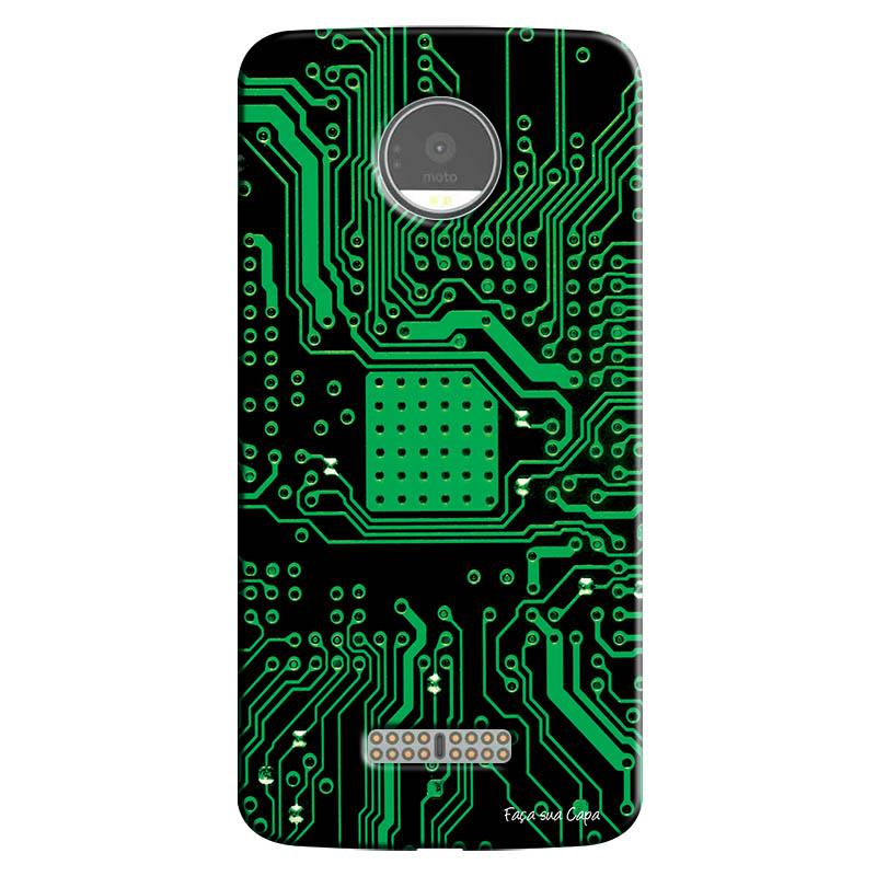 Capa Personalizada para Motorola Moto Z Hightech - HG08