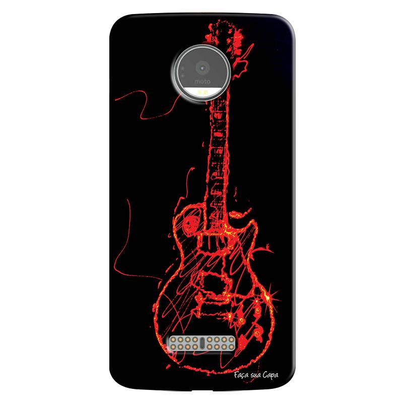 Capa Personalizada para Motorola Moto Z Guitarra - MU11