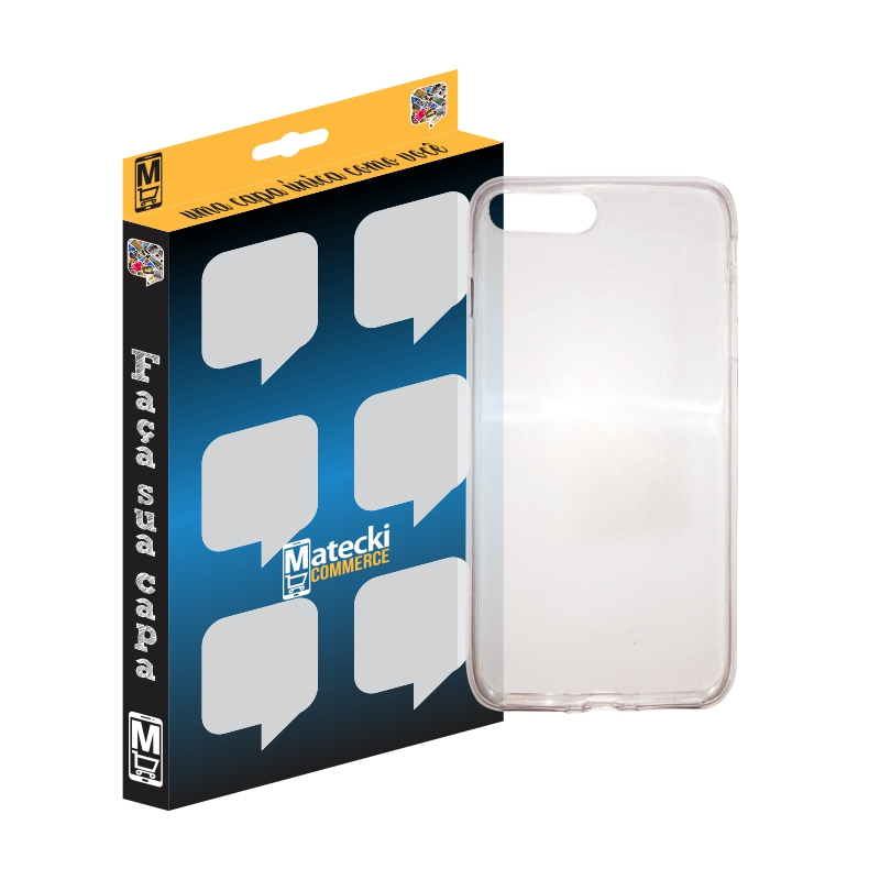 Capa TPU Premium Transparente para Apple iPhone 7 Plus e iPhone 7 Pro - Matecki