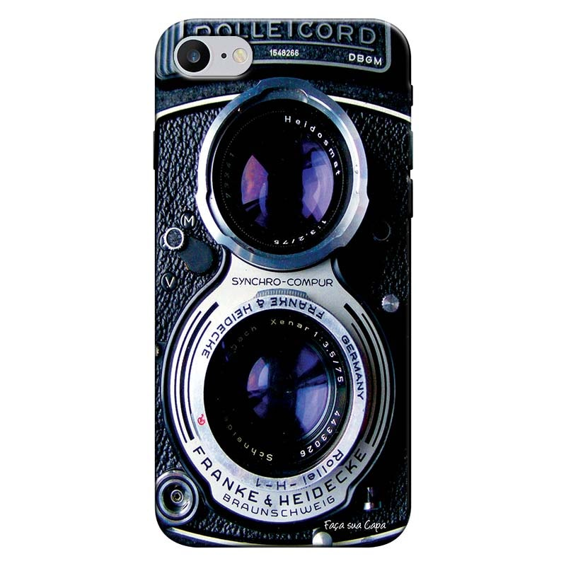 Capa Personalizada para Iphone 7 Câmera Fotográfica - TX56