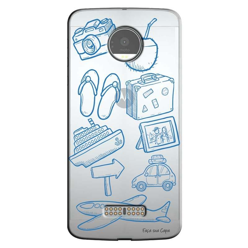 Capa Personalizada para Motorola Moto Z Viagem - TP28