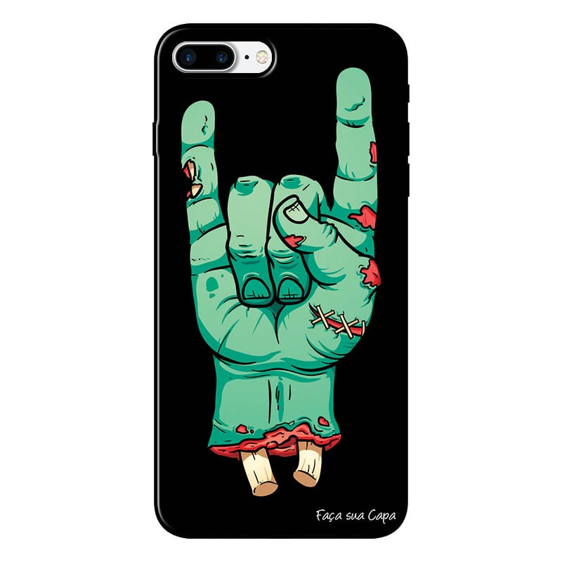 Capa Personalizada para Iphone 7 Plus Rock'n Roll - AT06