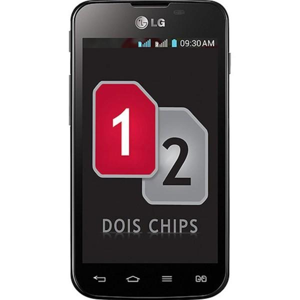 Película Protetora para LG Optimus LG E455 E450 L5II Dual - Transparente
