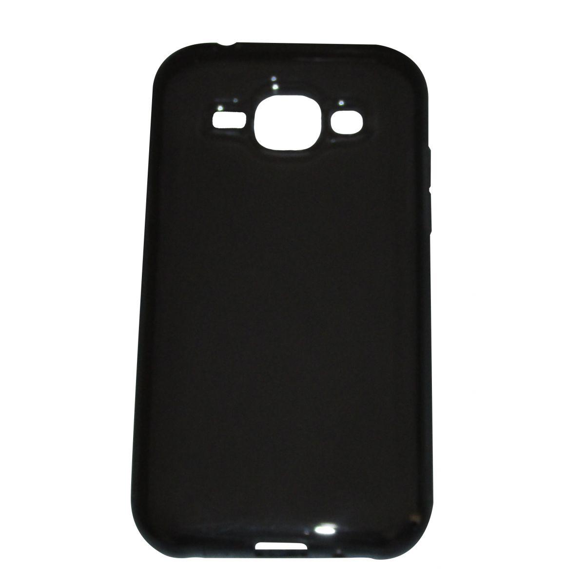 Capa TPU Grafite Samsung Galaxy J1 J100 + Pelicula Flexível