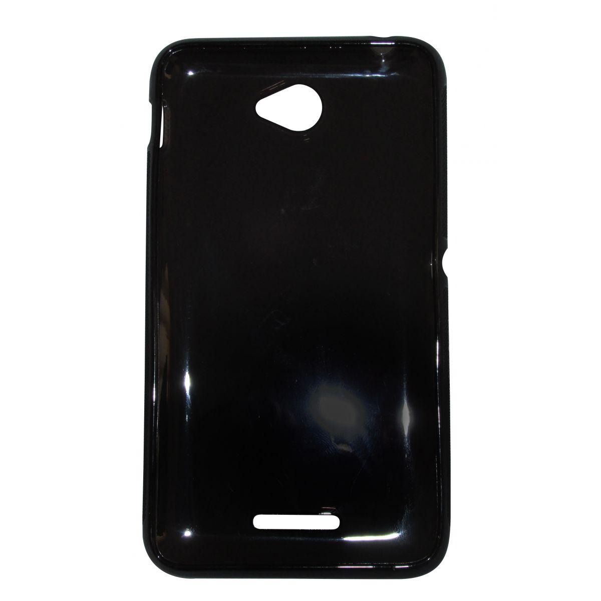 Capa TPU Grafite Sony Xperia E4 E2104 E2105 + Película Flexível