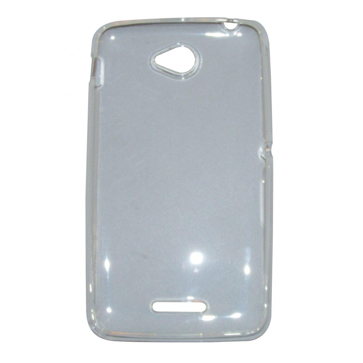 Capa TPU Transparente Sony Xperia E4 E2104 E2105 + Película Flexível