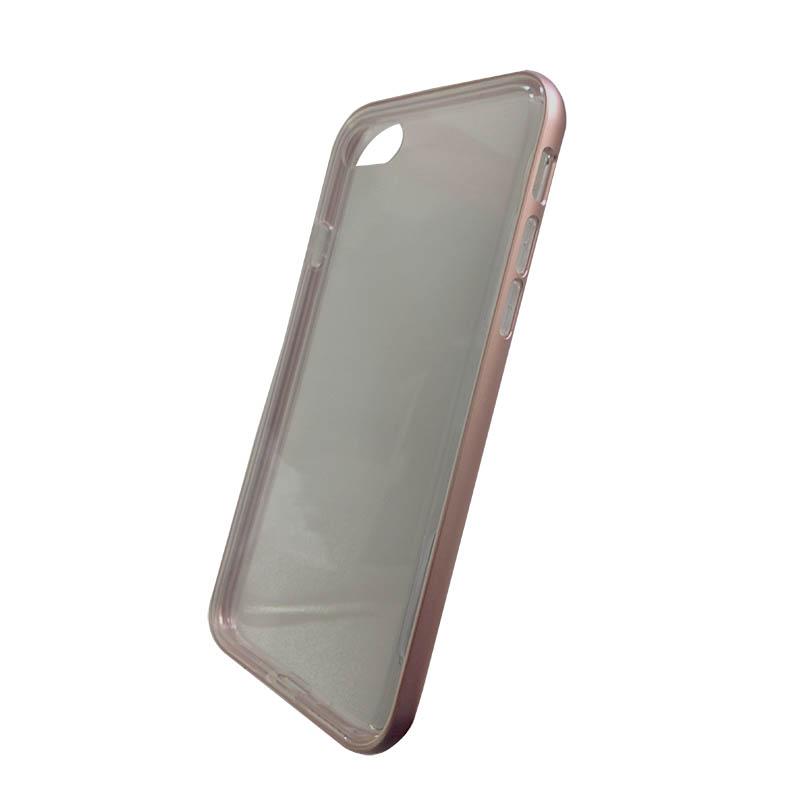 Capa Bumper Armour Anti-Impacto Ikase para Iphone 7 - Rosa