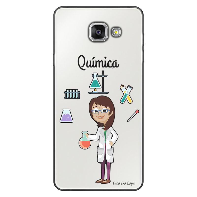 Capa Personalizada para Samsung Galaxy A9 A910 Química - TP219