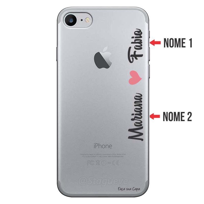 Capa Personalizada Com Nome para Iphone 7 - NM01
