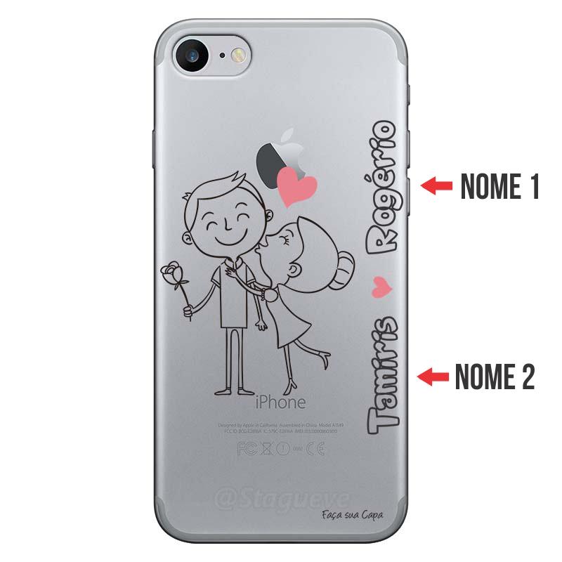 Capa Personalizada Com Nome para Iphone 7 - NM03