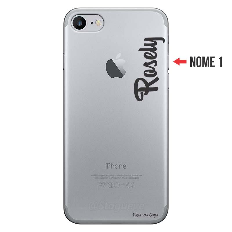 Capa Personalizada Com Nome para Iphone 7 - NM06