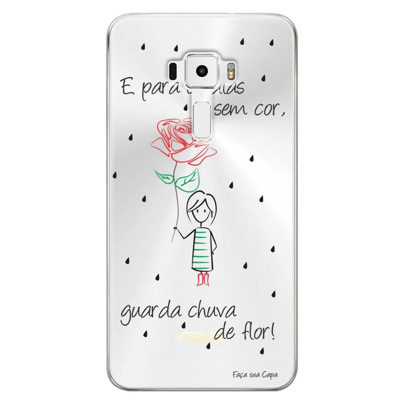 Capa Personalizada para Asus Zenfone 3 5.7 Deluxe ZS570KL Frases - TP112