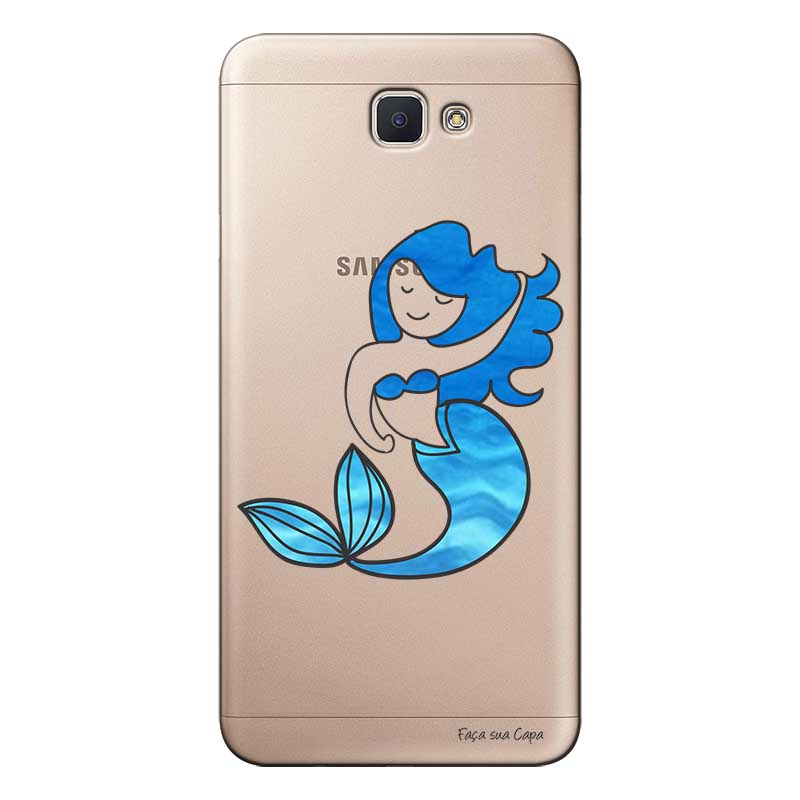 Capa Personalizada para Samsung Galaxy j7 Prime Sereia - TP301