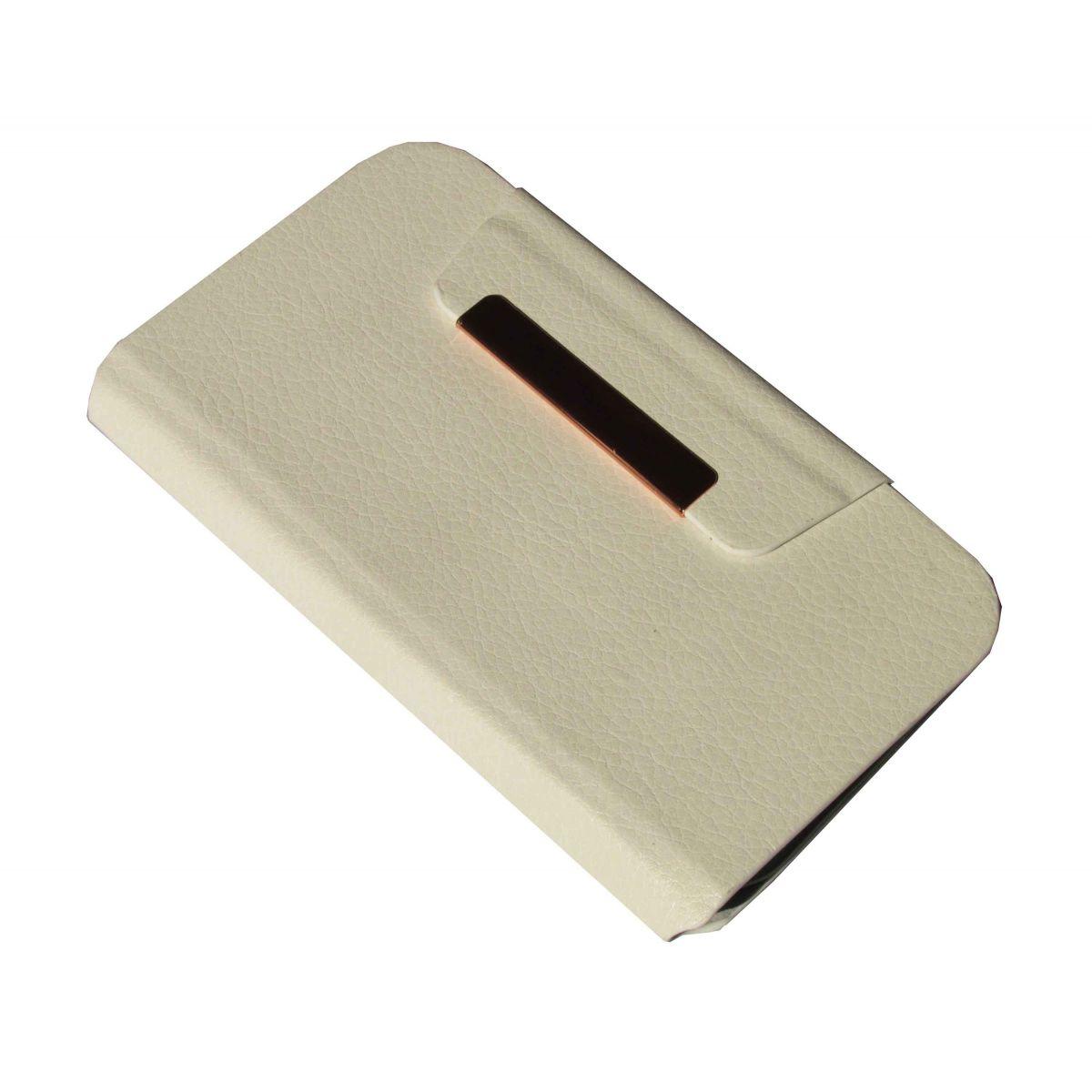 Capa Carteira Universal para Celular de até 3 Polegadas Branca