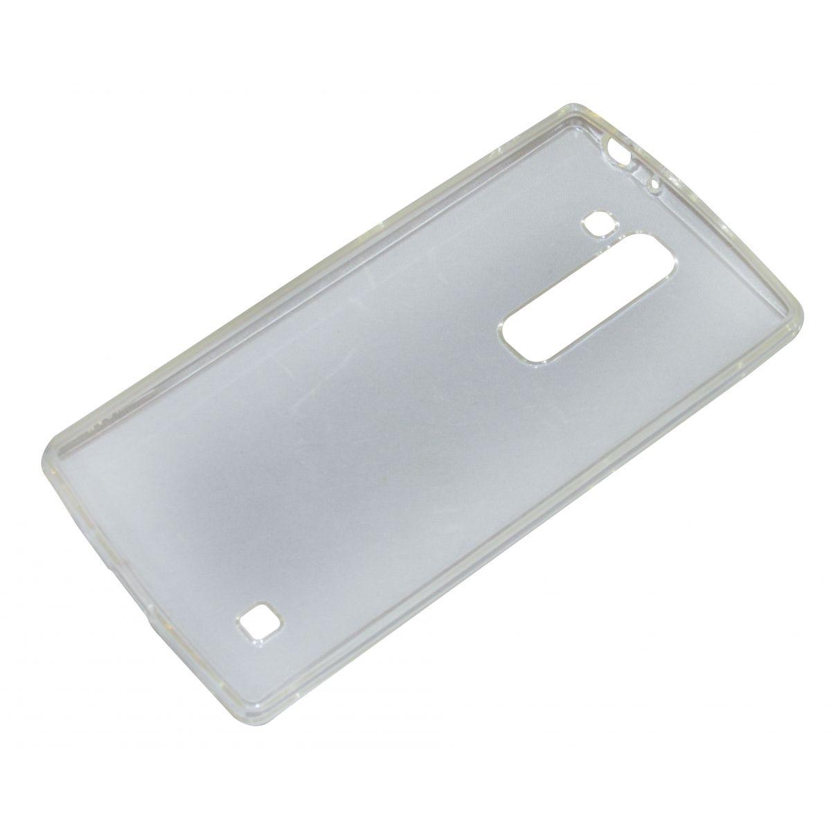 Capa TPU Transparente LG Magna H502 + Película Flexível