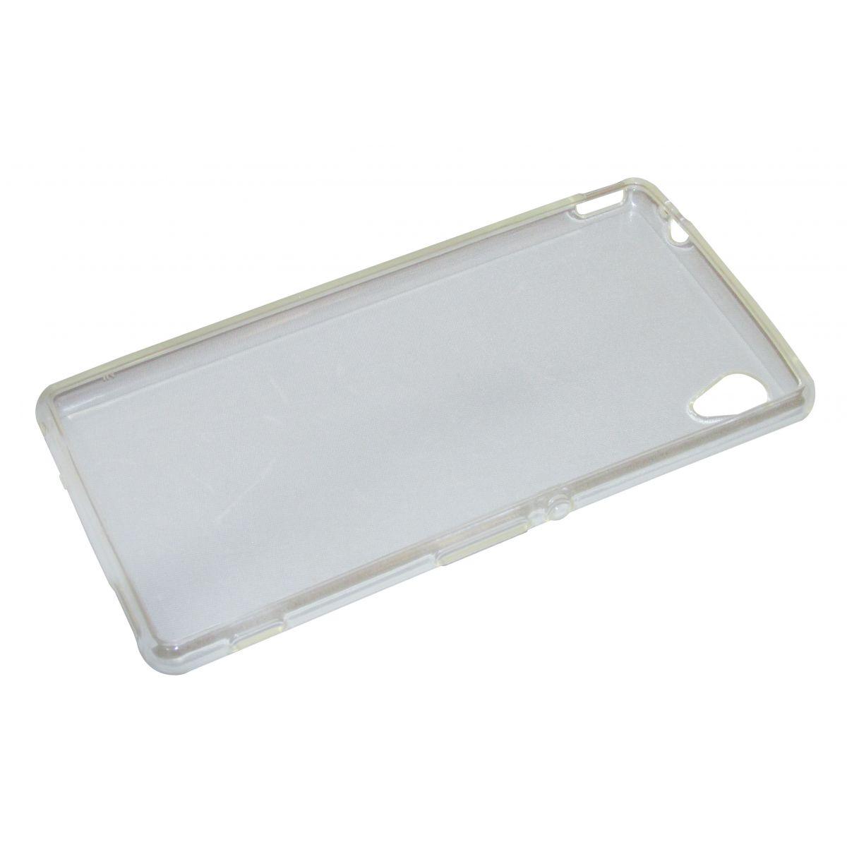 Capa TPU Transparente Sony Xperia M4 Aqua Dual 7068 + Película Flexível