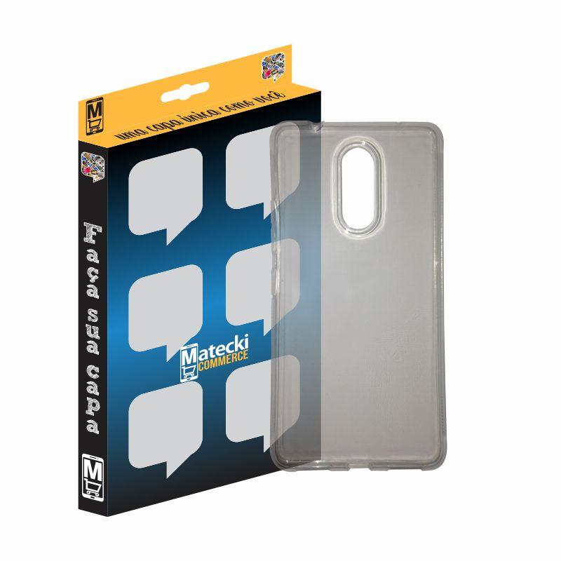 Capa TPU Transparente Lenovo Vibe K6 Plus