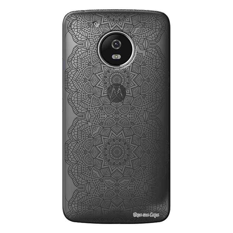 Capa Personalizada para Motorola Moto G5 XT1676 Renda - TP292