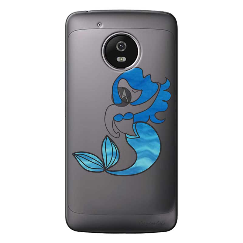Capa Personalizada para Motorola Moto G5S Sereia - TP301