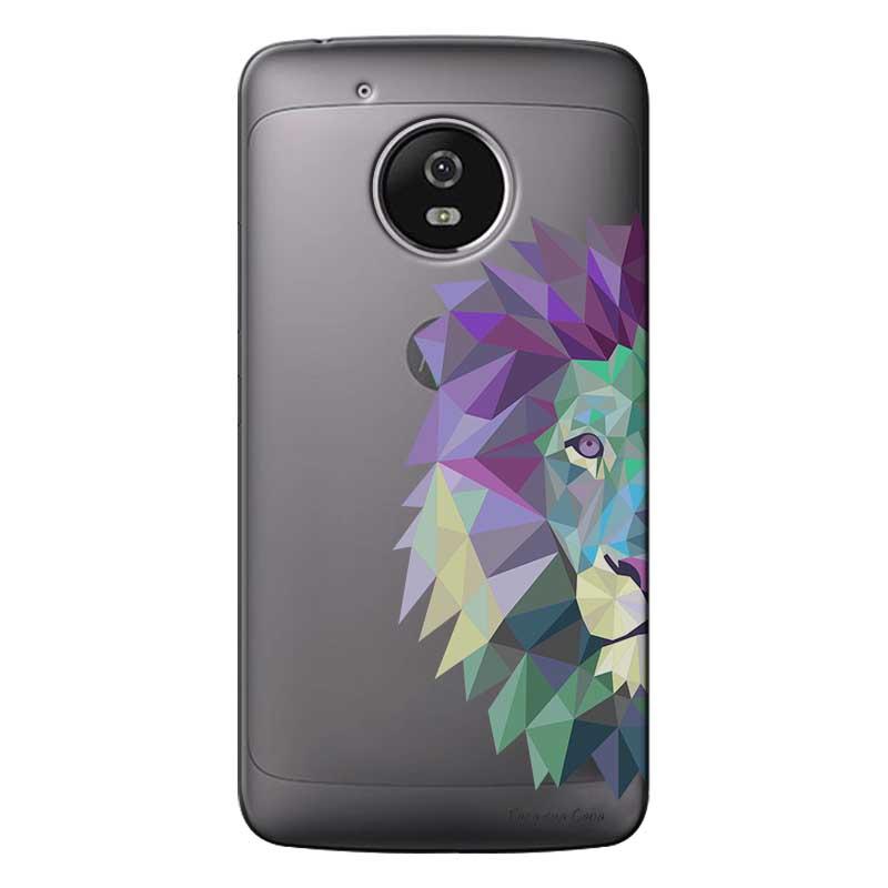 Capa Personalizada para Motorola Moto G5 XT1676 Leão - TP234