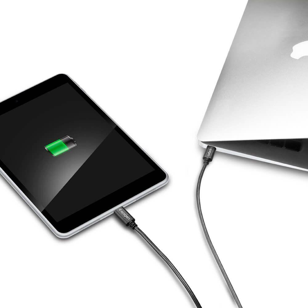 Cabo USB-C a USB 2.0 Spigen 1 metro
