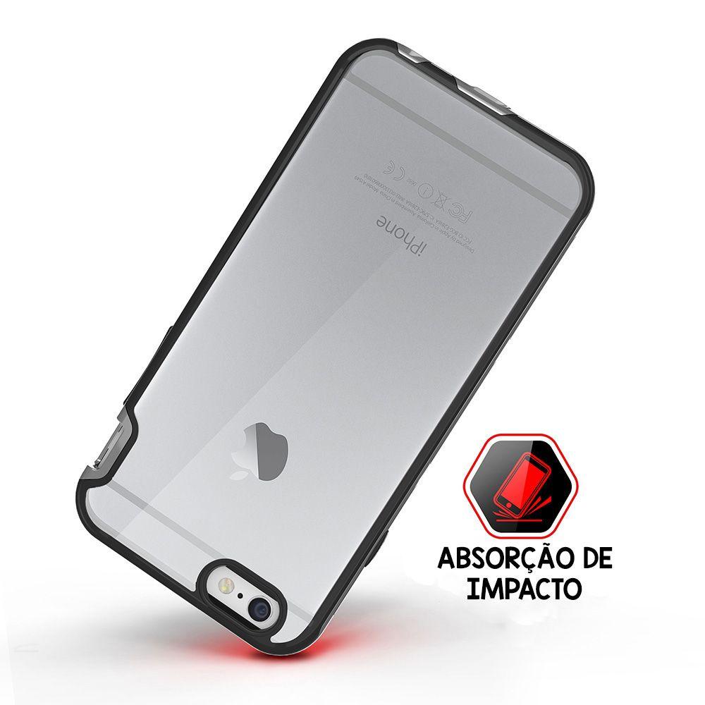 Capa Antishock Duo Itskins Apple iPhone 6/6S Plus - Cinza