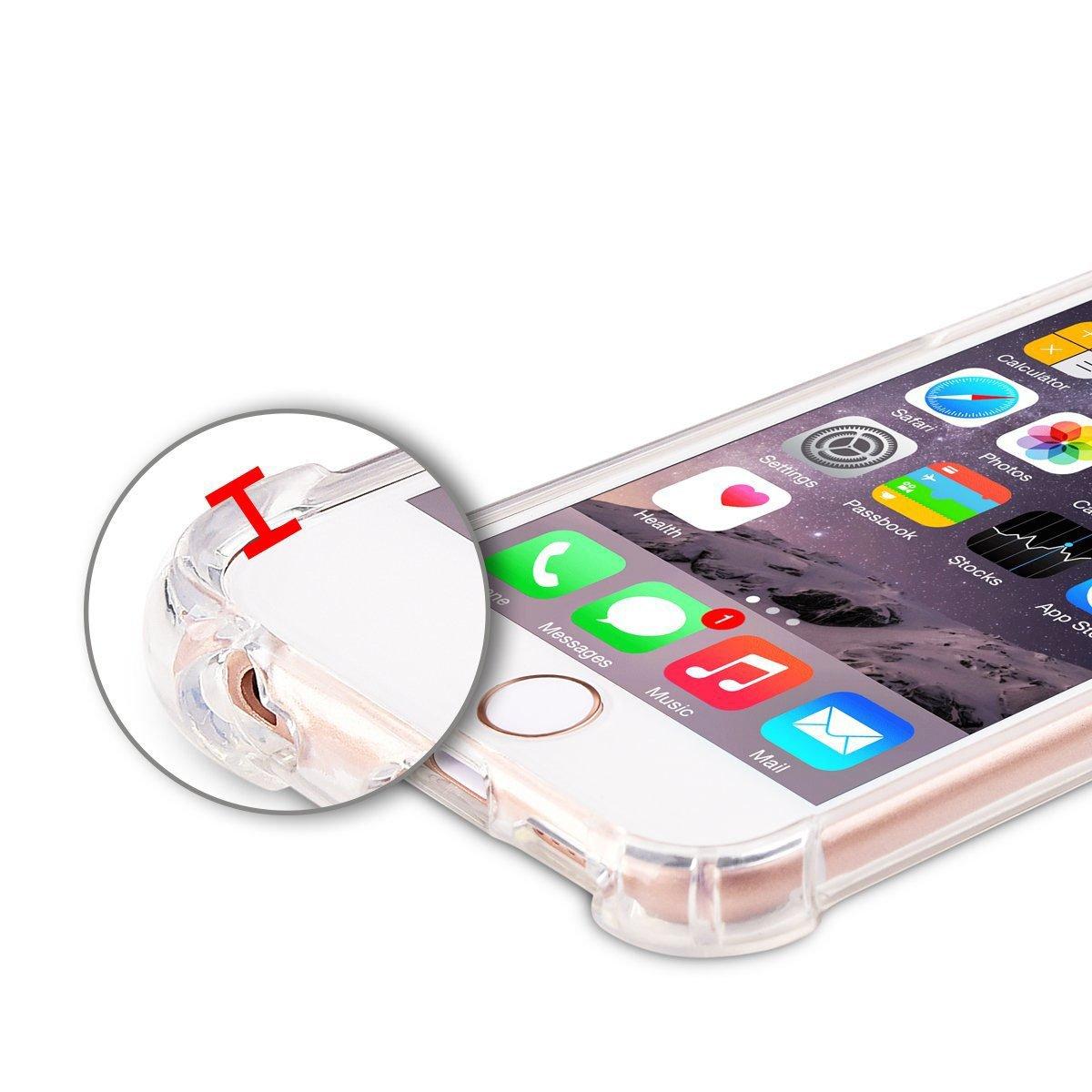 Capa TPU Anti Impacto Transparente Apple Iphone 6 6S