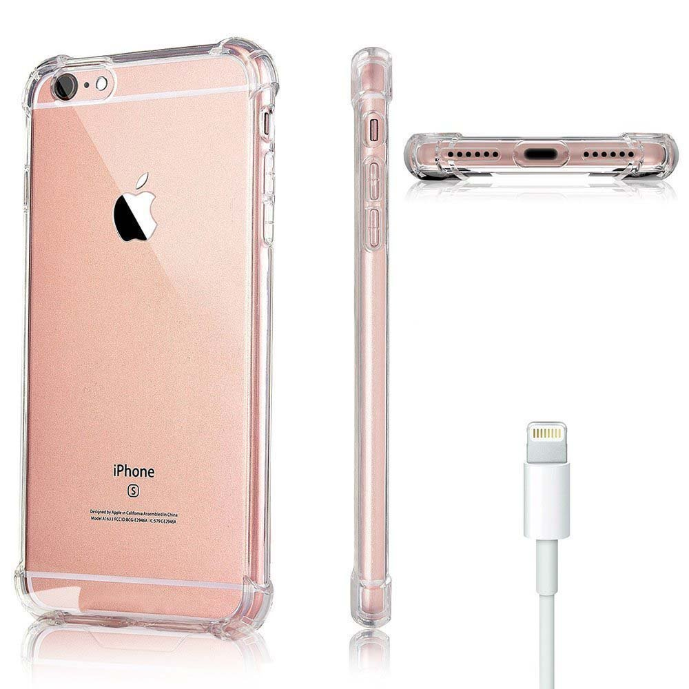 Capa TPU Anti Impacto Transparente Apple iPhone 6 6S Plus