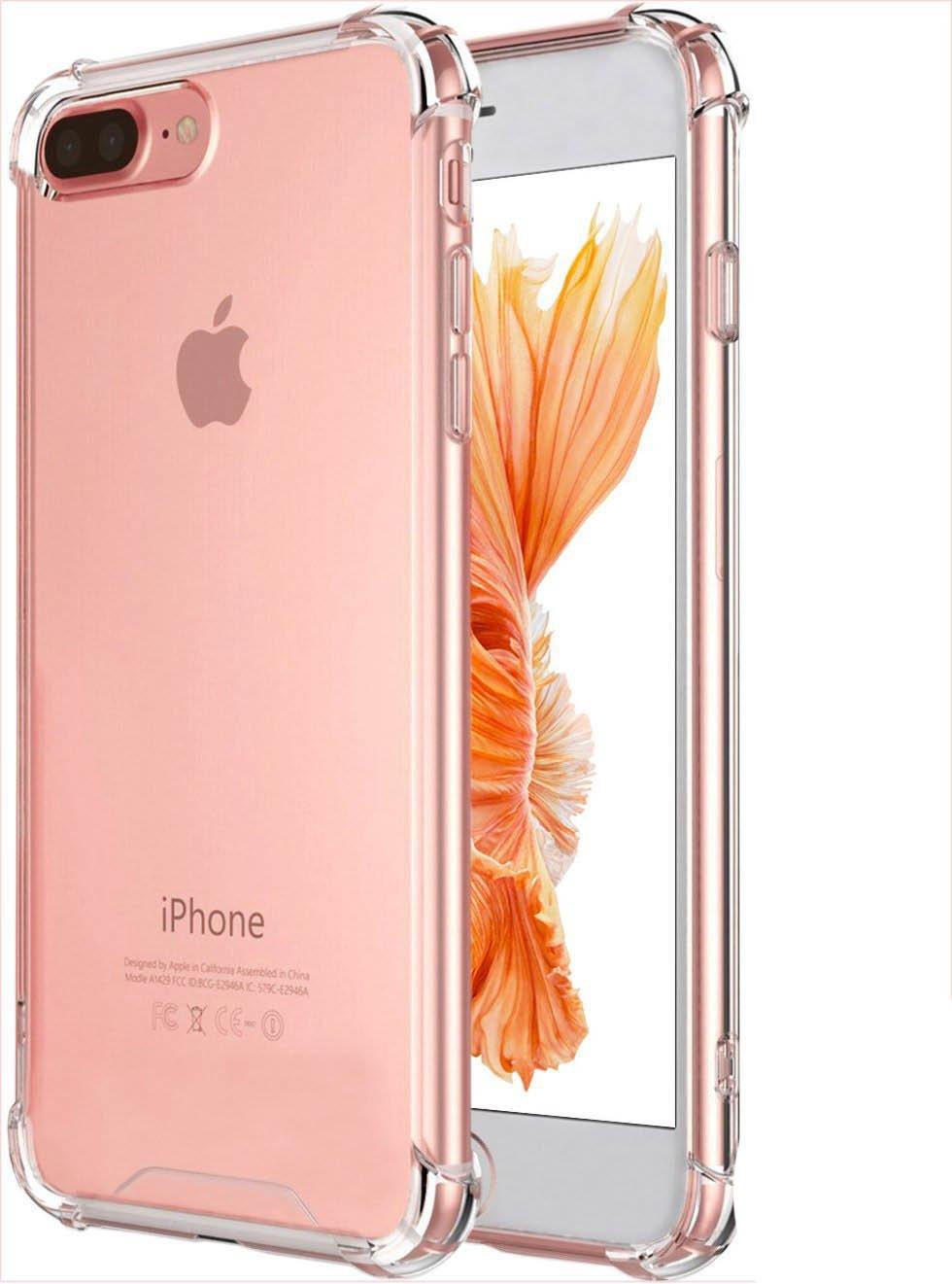Capa TPU Anti Impacto Transparente Apple iPhone 7 Plus