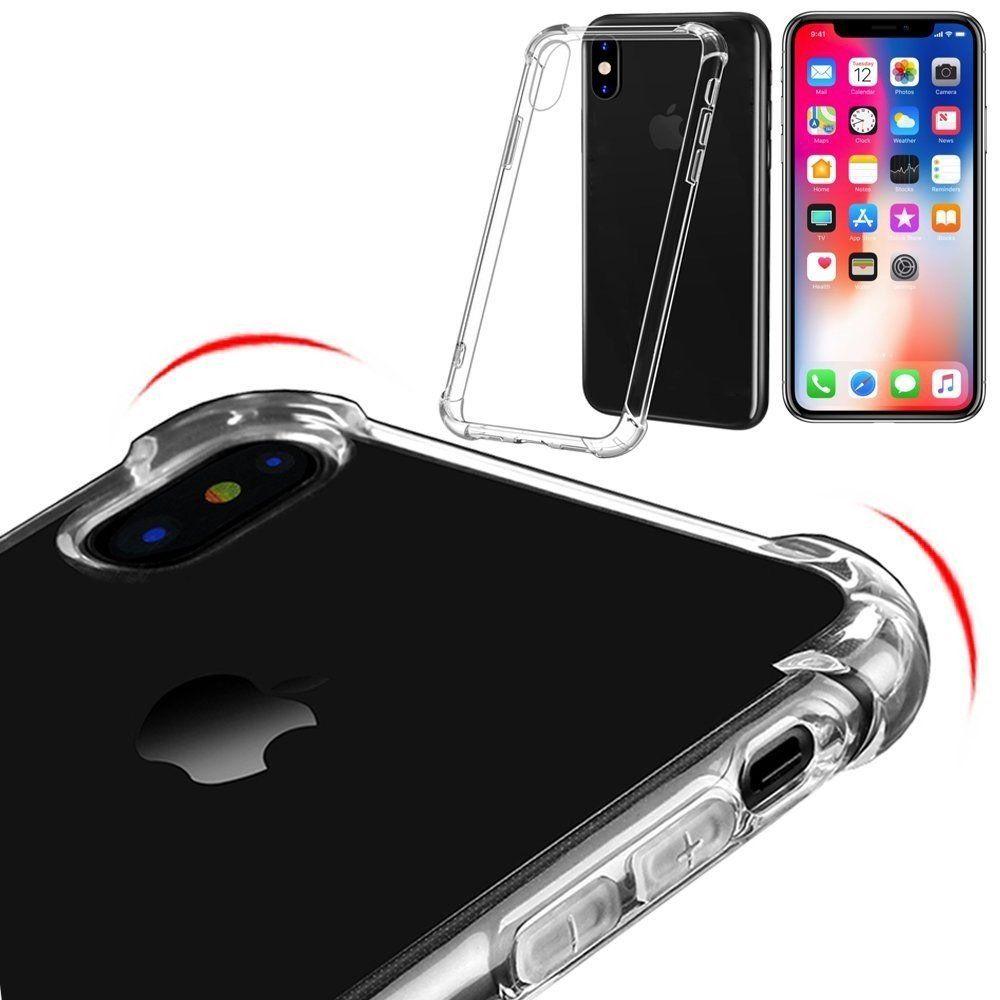 Capa TPU Anti Impacto Transparente Apple iPhone X