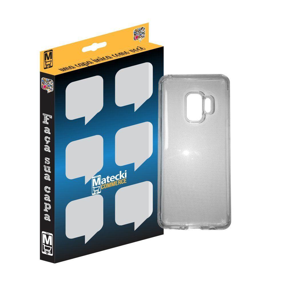 Capa TPU Transparente Samsung Galaxy S9 Plus G965