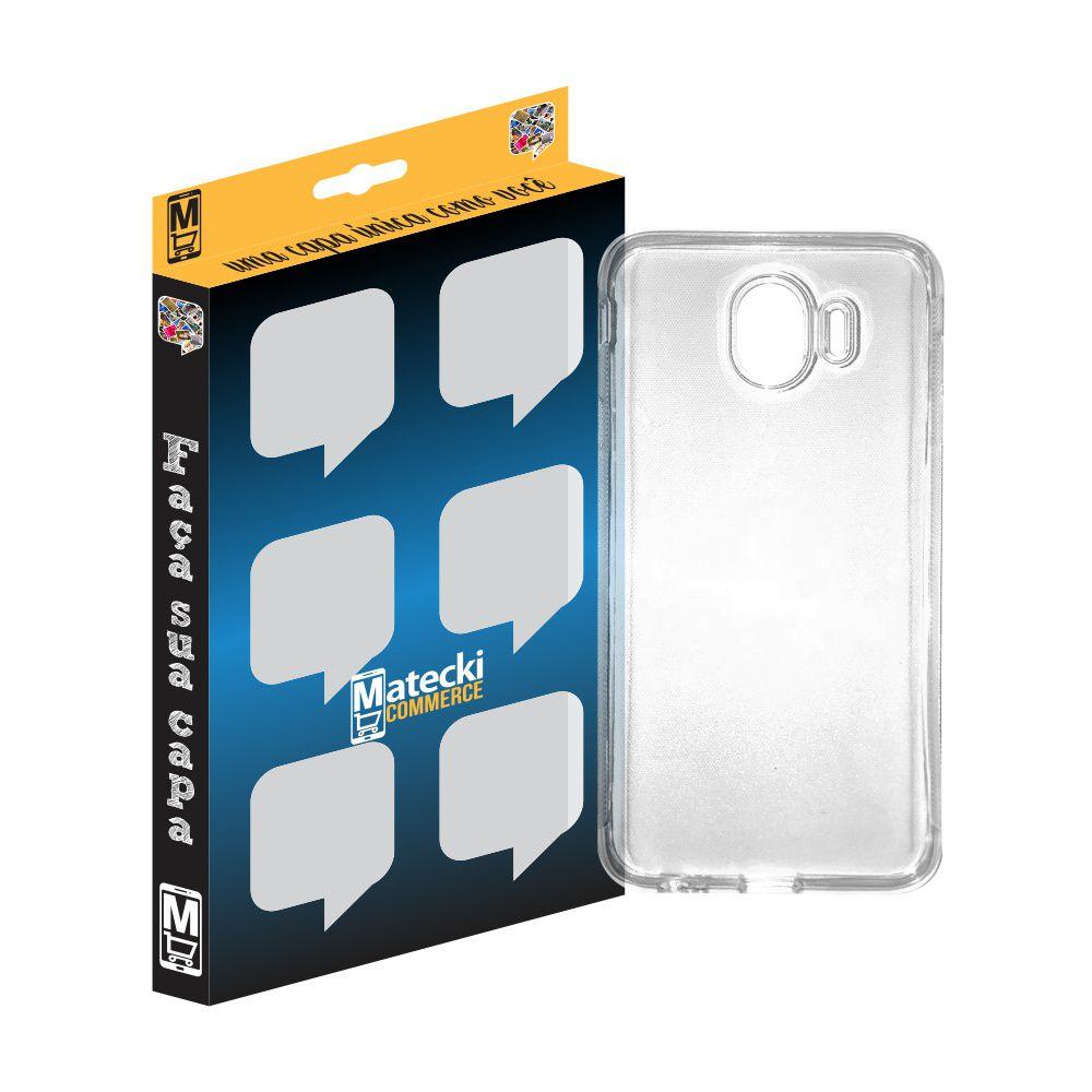 Capa TPU Transparente Samsung Galaxy J4 J400