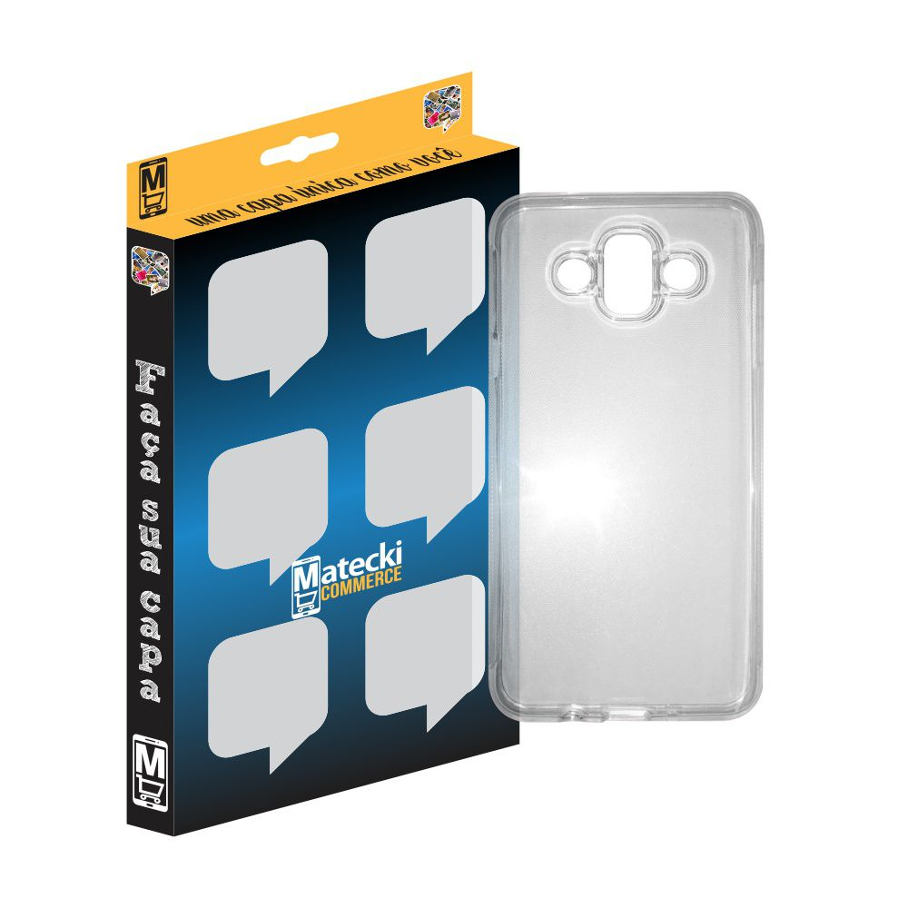 Capa TPU Transparente Samsung Galaxy J7 Duo