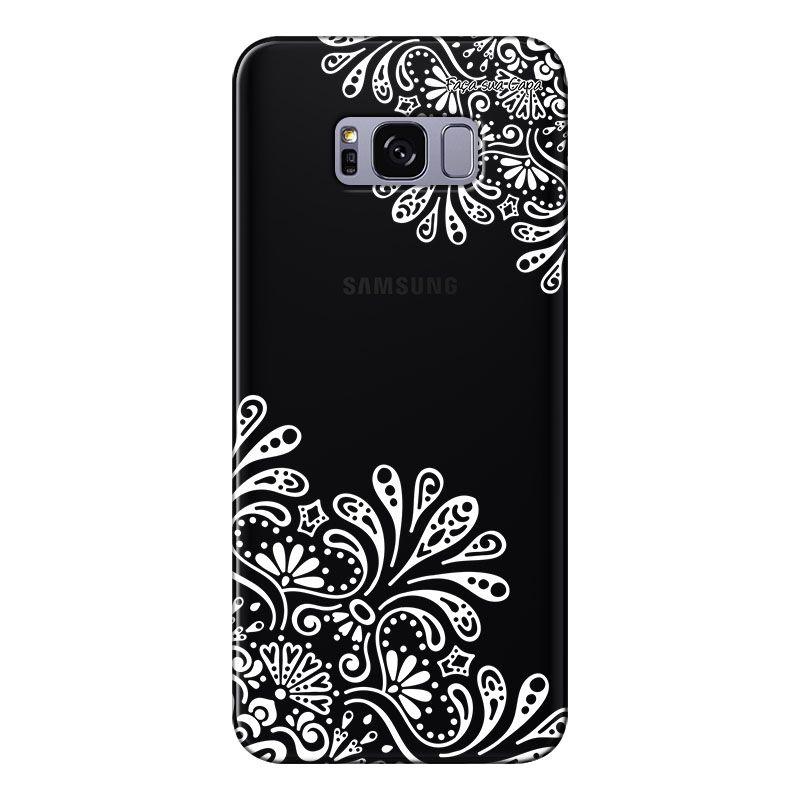 Capa Grafite Personalizada para Samsung Galaxy S8 Plus G955 - Mandala - GF02