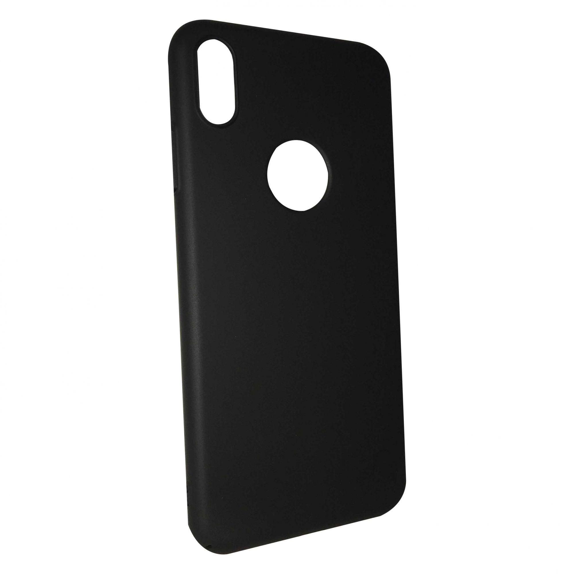 Capa iKase Fit Case iPhone X XS - Preta