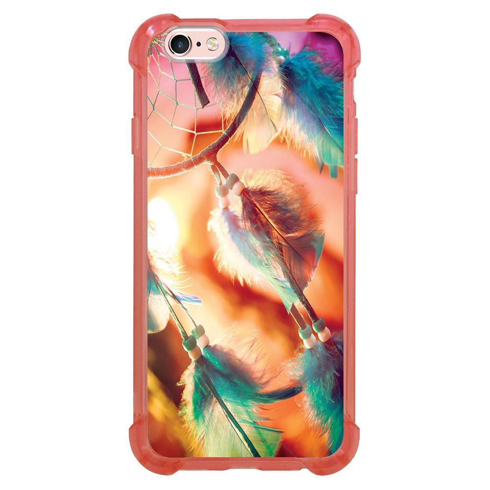 Capa Intelimix Anti-Impacto Rosa Apple iPhone 6 6s Filtro do Sonhos - AT16