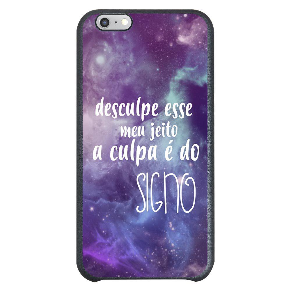 Capa Intelimix Couro Cinza Apple iPhone 6  Signos - SN37