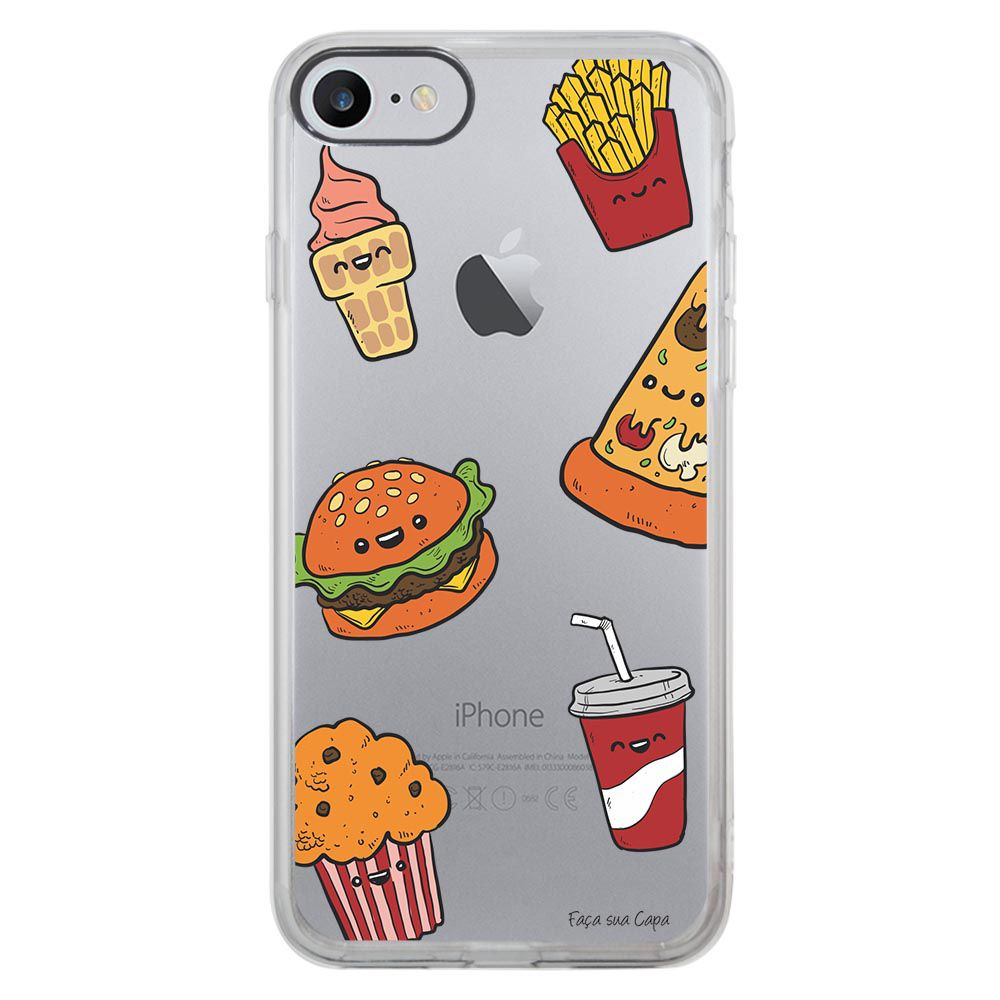 Capa Intelimix Intelislim Apple iPhone 7 Food - TP106