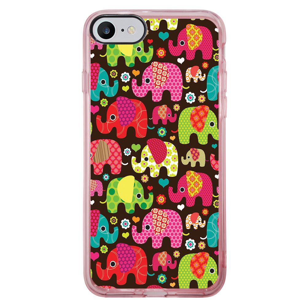 Capa Intelimix Intelislim Rosa Apple iPhone 7 Pets - PE01