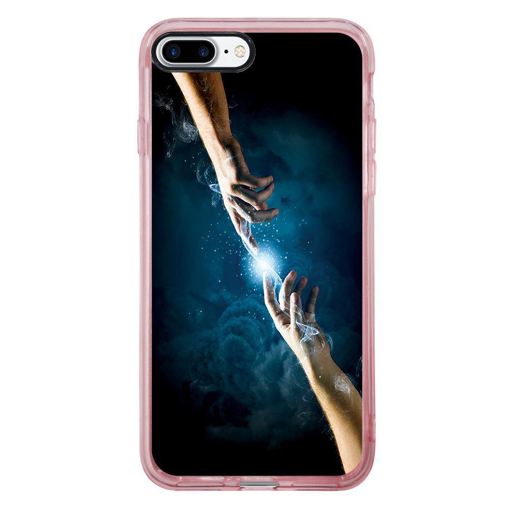 Capa Intelimix Intelislim Rosa Apple iPhone 7 Plus Religião - RE13