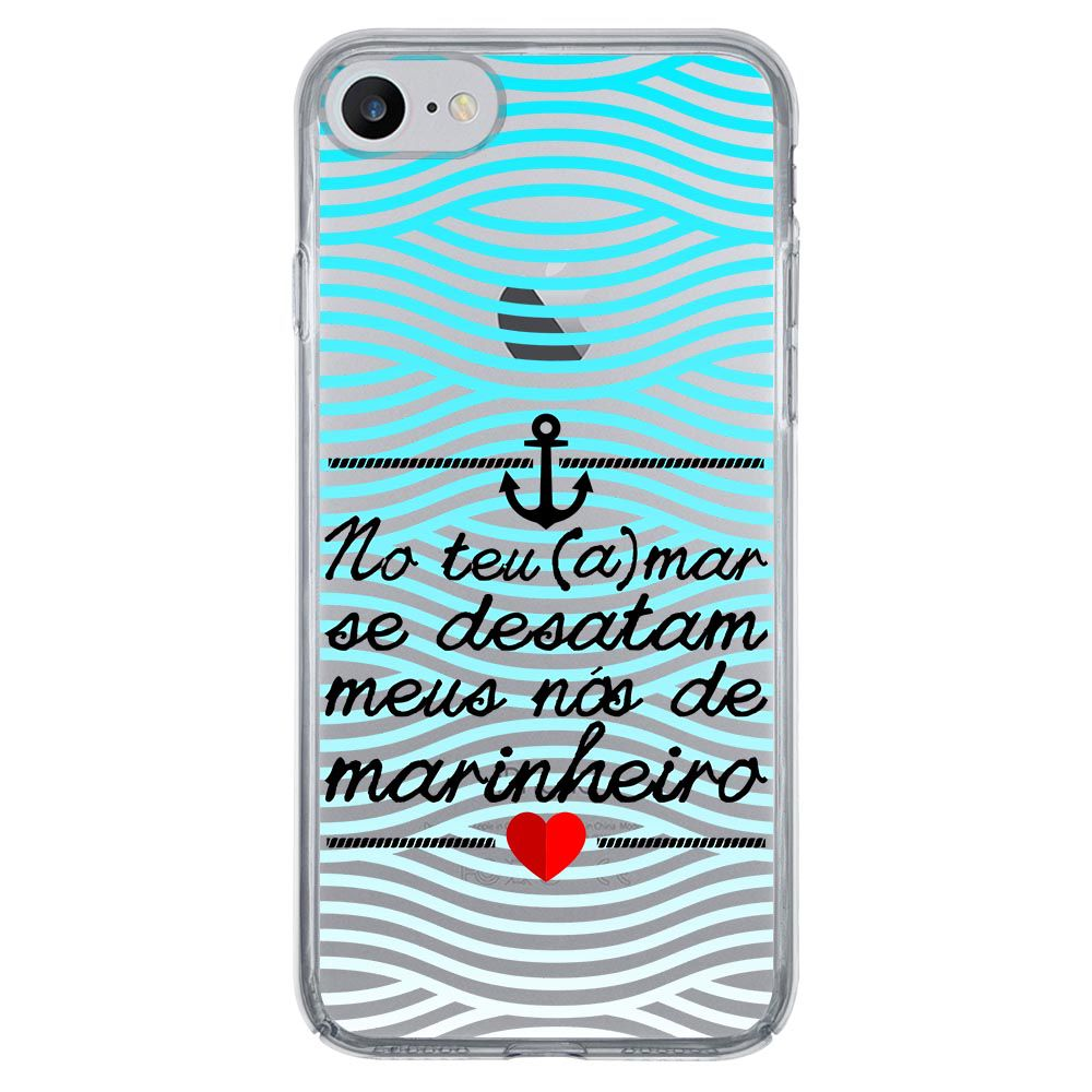 Capa Intelimix Nuance Apple iPhone 7 Frases - TP378