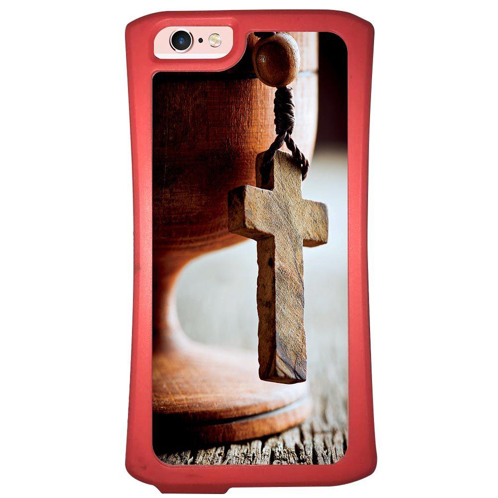 Capa Intelimix Velozz Coral Apple iPhone 6 6S Religião - RE03